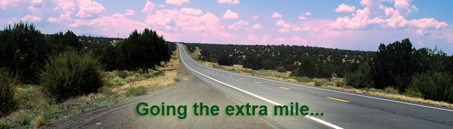 Closed Captions - going the extra mile...