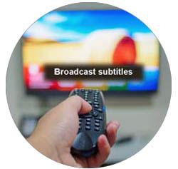 Broadcast Subtitles