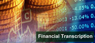 Financial Transcription
