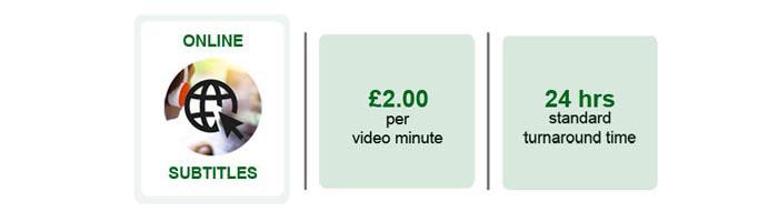 Online-subtitle-services