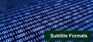 Subtitle-Formats