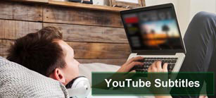 YouTube subtitling and closed captioning