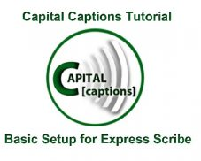 Video Tutorial on How to use Express Scribe for Transcription