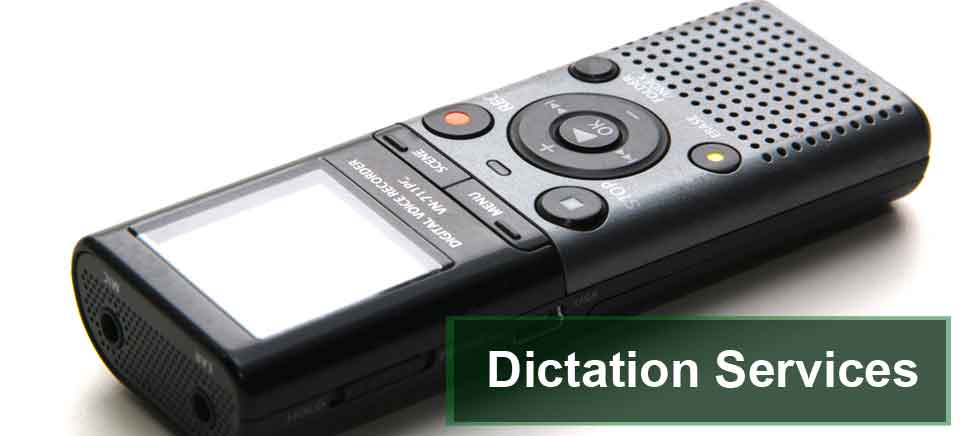 Dictation services