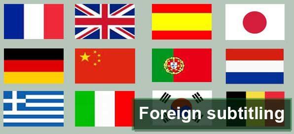 Foreign subtitling and video translation