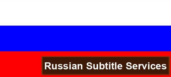 Russian subtitle services