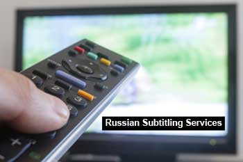 Russian subtitling services