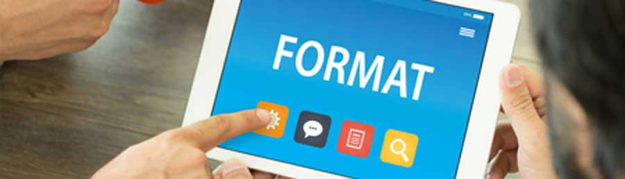 guide on how to format word documents