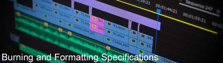Subtitle Burning and Formatting Specifications