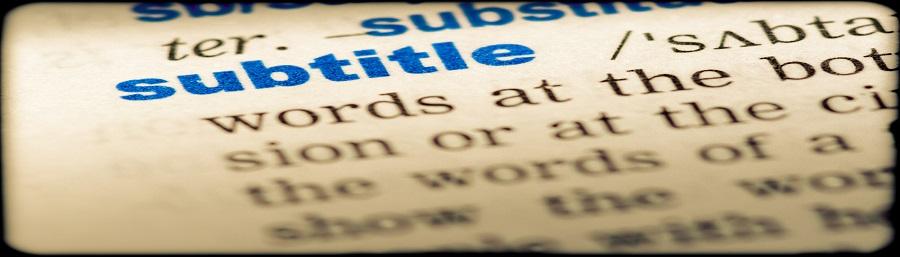 Subtitling Guidelines