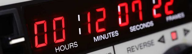 Video Transcription with Time Codes